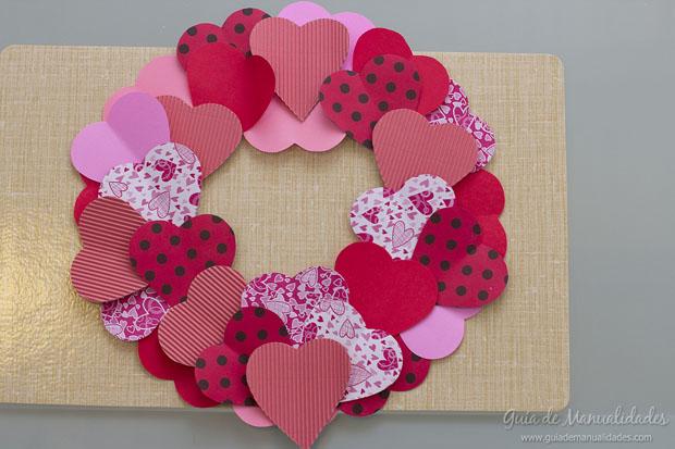 Corona de corazones 8