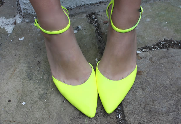 Tacones color neon 1