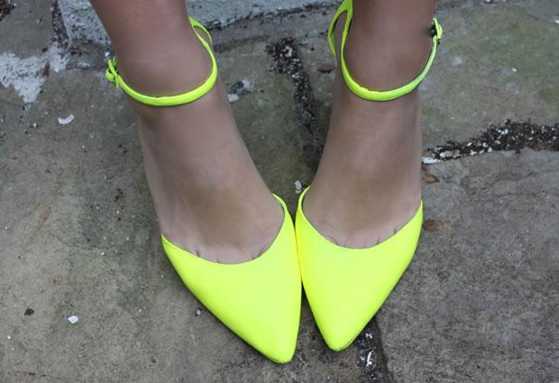 Tacones color neon 1