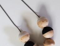 imagen Colgante con esferas de madera