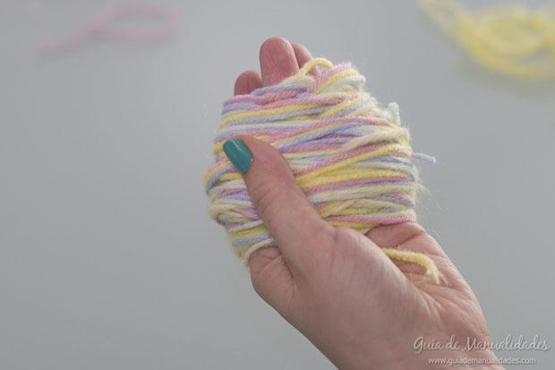 Pompones multicolor 4