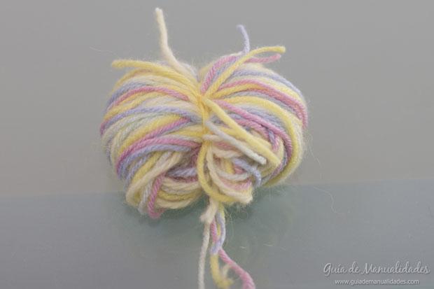 Pompones multicolor 5