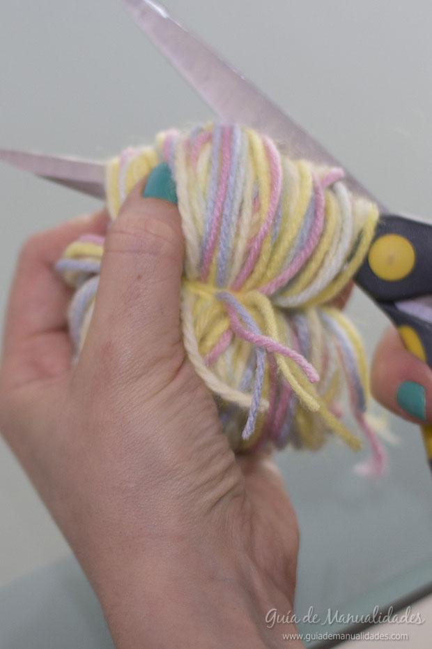 Pompones multicolor 6