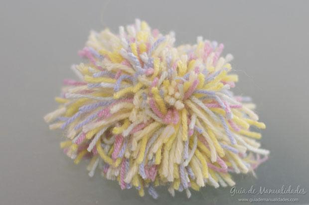 Pompones multicolor 7