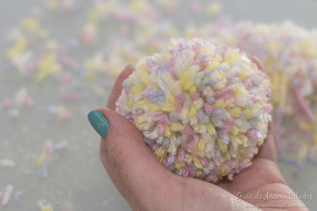 Pompones multicolor 8