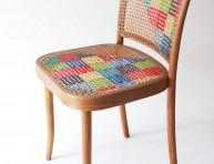 imagen Decora las sillas con lanas