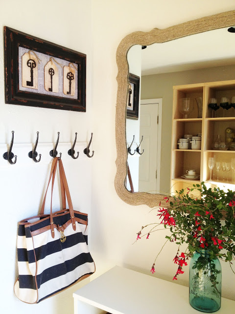 Espejo decorado cordel 1