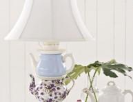 imagen Haz una lámpara de mesa con vieja vajilla