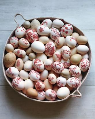 Huevos decorativos 1
