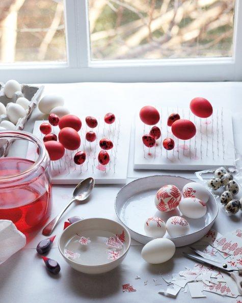 Huevos decorativos 2