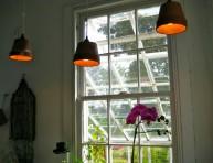 imagen Lámparas con jardineras