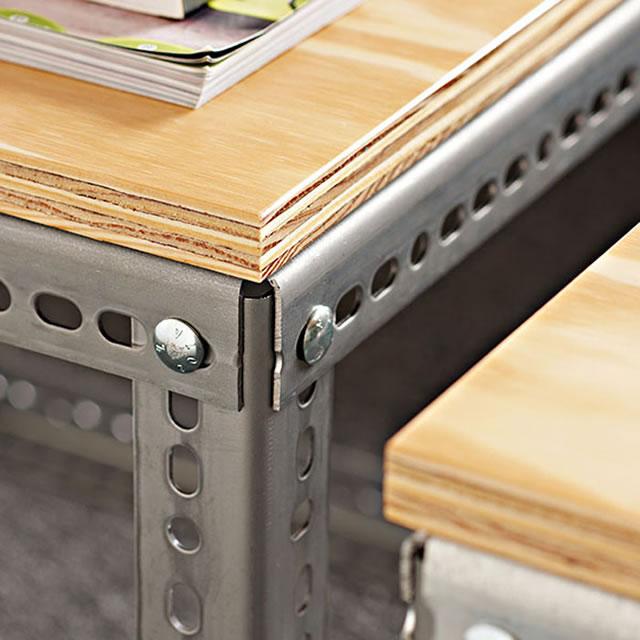 C mo hacer una mesa auxiliar de estilo industrial gu a for Mesa estilo industrial