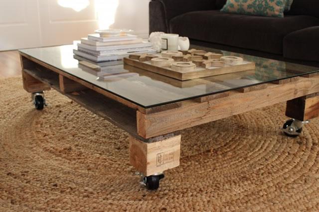 Mesa con palet 1