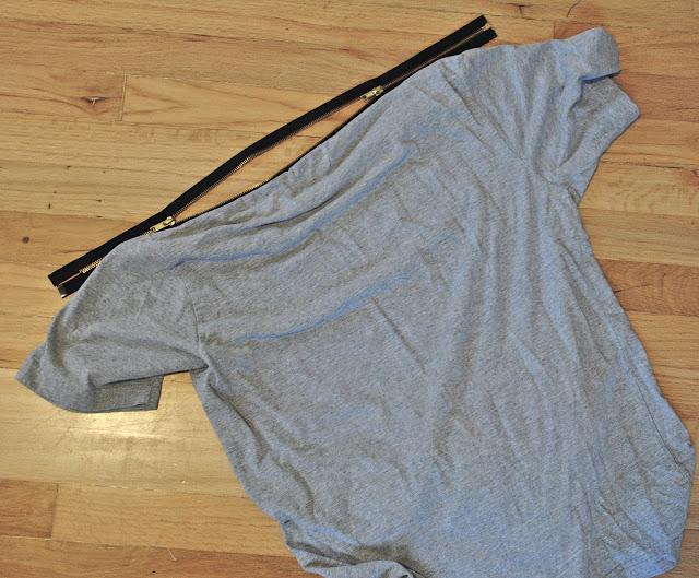 Camiseta con cremallera 3