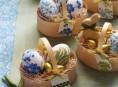 imagen Decora huevos con la técnica del decoupage