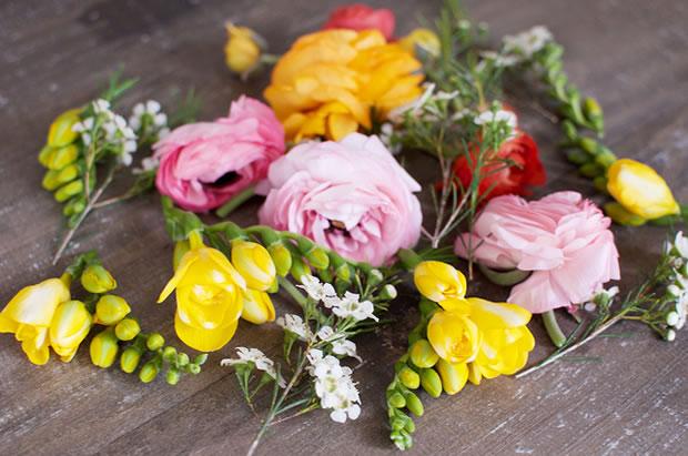 Vincha con flores 3