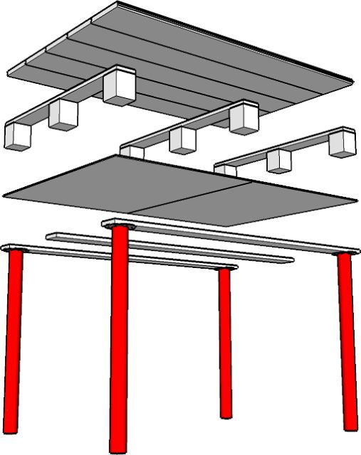 Mesa con un palet 2