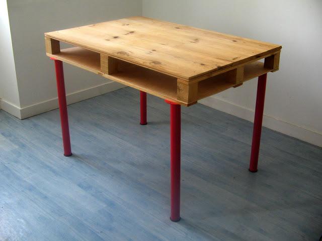Mesa con un palet 3
