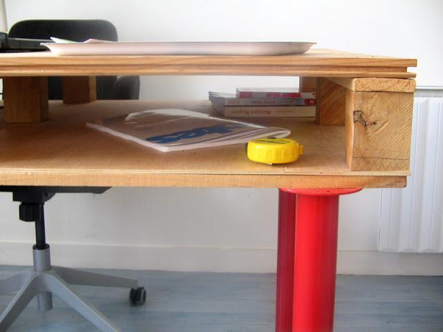 Mesa con un palet 5
