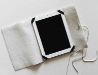 imagen Funda de cuero para la tablet