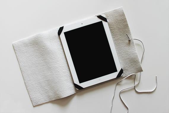 Funda para tablet DIY 4