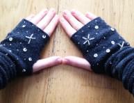 imagen Cómo hacer guantes con calcetines