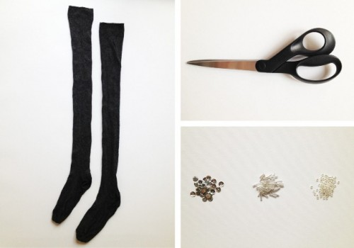 Guantes con calcetines 2