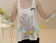 imagen Guirnalda con círculos de colores