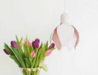 imagen Cómo hacer una lámpara con forma de flor