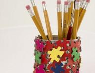 imagen Lapicero con piezas de puzzle