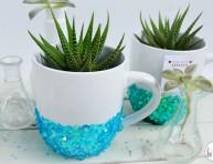 imagen Macetas decorativas con tazas