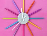 imagen Reloj para niños con marcadores