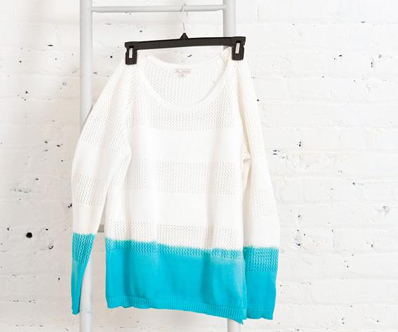 Sweater teñido 1