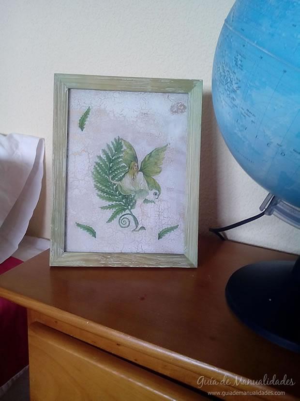 Portarretrato decorado 1