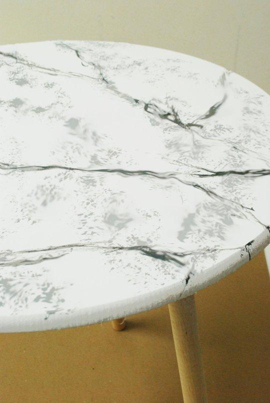 Pintar falso mármol 5