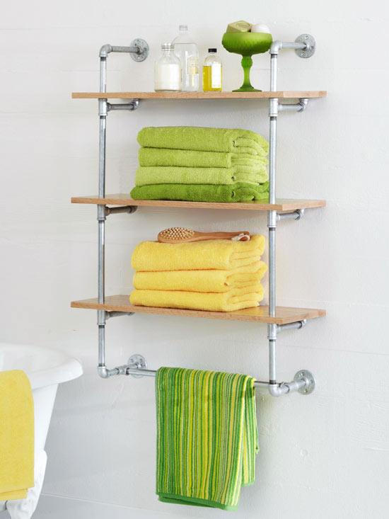 Manualidades para el ba o gu a de manualidades part 2 for Estanteria bano toallas