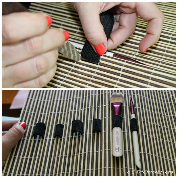 Organizador de brochas de maquillaje 2