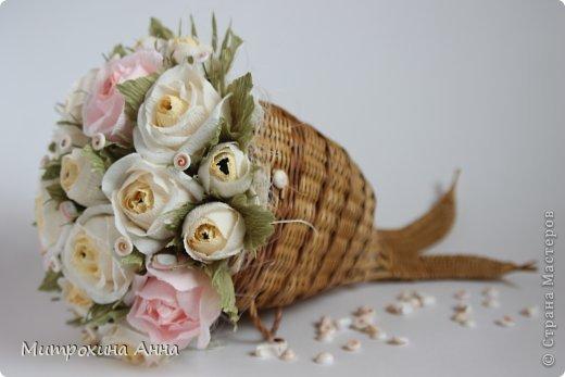 Flores de papel con dulces 2