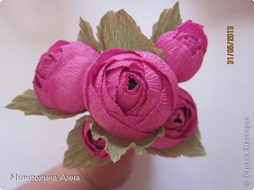 Flores de papel con dulces 3