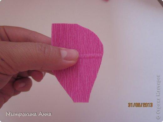 Flores de papel con dulces 6