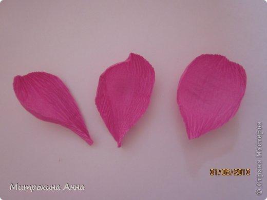 Flores de papel con dulces 12