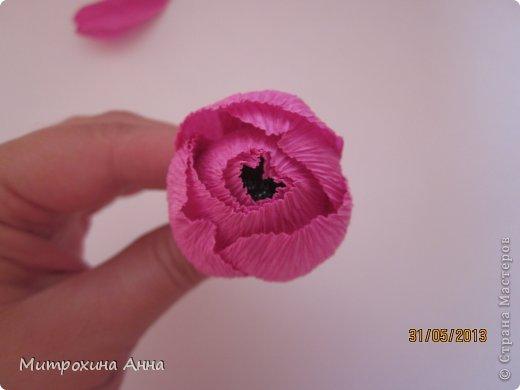 Flores de papel con dulces 13