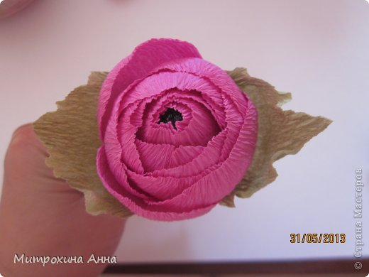Flores de papel con dulces 4