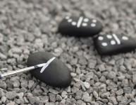 imagen Dominó con piedras