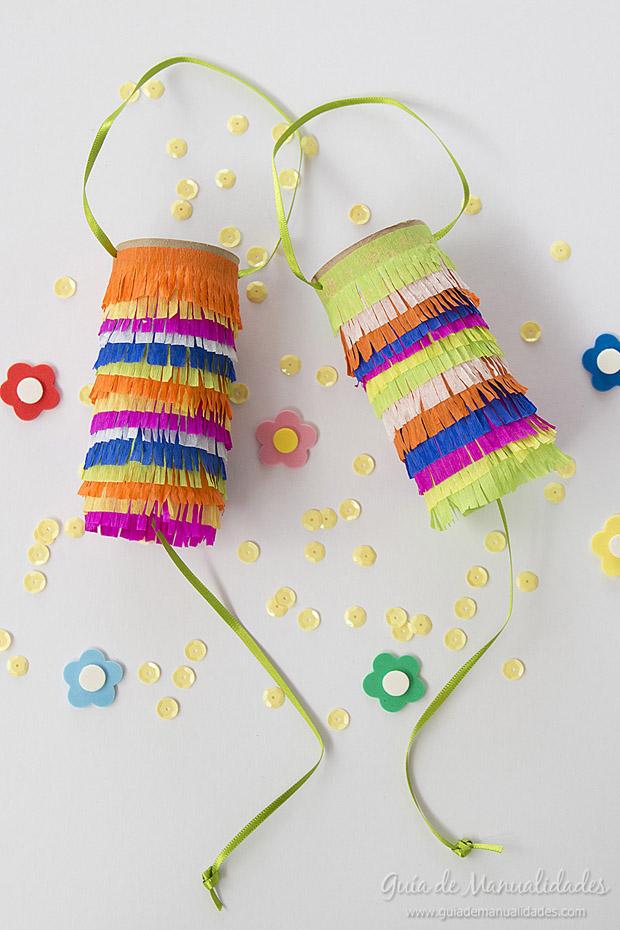 Mini piñatas DIY 1