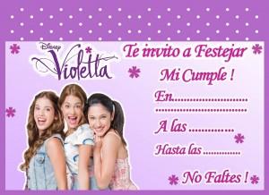 Tarjetas de Violetta 3