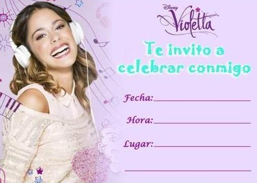 Tarjetas de Violetta 4