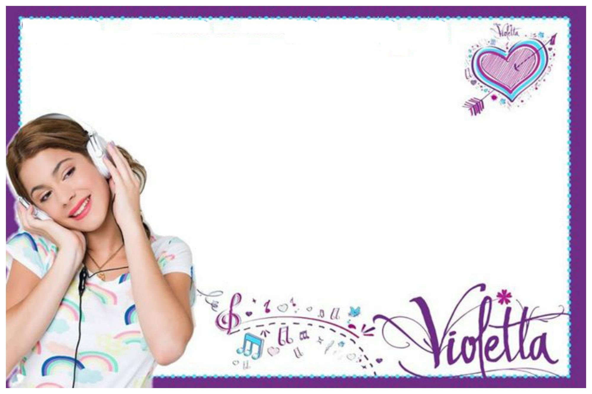 Tarjetas De Cumpleaños De Violetta Guía De Manualidades