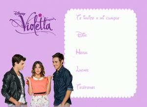 Tarjetas de Violetta 9