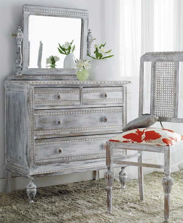 C mo armar un tocador con muebles antiguos gu a de - Modernizar muebles antiguos ...